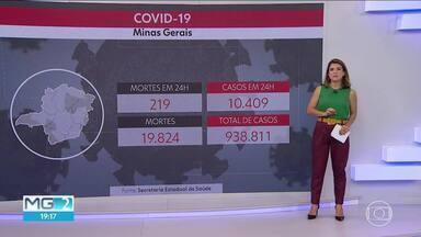 Minas bate recorde de casos de Covid registrados em 24 horas - Foram 10.049 novos registros, incluídos no boletim da Secretaria Estadual de Saúde.