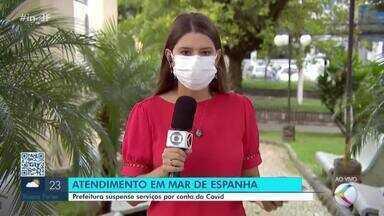 Atendimentos presenciais são suspensos no CAC e Cras em Mar de Espanha - A medida vale entre os dias 9 e 23 de março, devido aos altos índices de contaminação do coronavírus na cidade, além da falta de leitos na macrorregião.
