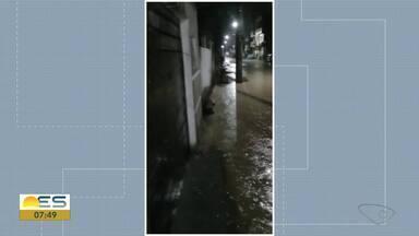 Telespectadora mostra imagens de chuva em Planalto Serrano, na Serra - Veja a seguir.