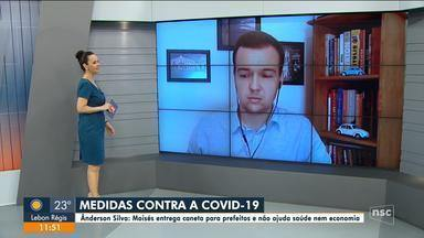 Ânderson Silva fala sobre medidas contra a pandemia em SC - Ânderson Silva fala sobre medidas contra a pandemia em SC