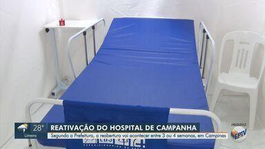 Campinas dá início a processo de contratação de empresa para reativar Hospital de Campanha - A previsão é que a reabertura deve acontecer entre três e quatro semanas.