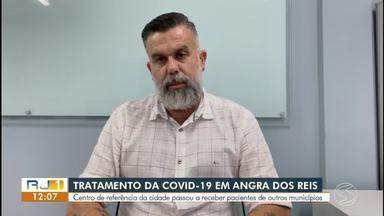 Angra dos Reis recebe pacientes com Covid-19 de outros municípios - Medida foi uma determinação do Governo do Estado do Rio.