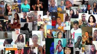 Talentos da comunidade: Confira vídeos talentosos que a equipe do BMD recebeu - Inscrições para talentos continuam nesta semana.