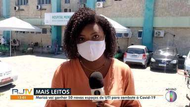 Maricá vai ganhar 50 novos leitos de UTI para combate à Covid-19 - Serão mais 40 leitos no Hospital Che Guevara e 10 no Conde Modesto Leal.