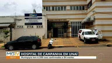 Unaí terá Hospital de Campanha para tratamento de Covid-19 - Hospital será montado no Parque de Exposições com 50 leitos. Anúncio foi feito pelo Prefeito José Gomes Branquinho (PSDB) nessa quinta-feira (11).