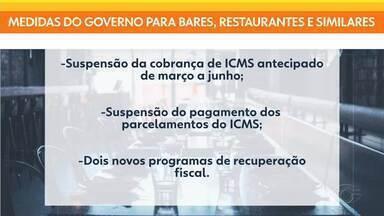 Governo anuncia pacote de benefícios para empresários afetados pela pandemia em AL - Iniciativa tem como objetivo amenizar os prejuízos de bares, restaurantes, dos setores de turismo e produtivo do estado na pandemia.