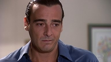 Danilo pede que Camila convença Alma a perdoá-lo - Alma evita Danilo e finge que não o viu. Alma conversa com a família sobre Danilo e sobre a história de Pedro e Helena, ela diz para Camila que também está esperançosa com sua recuperação