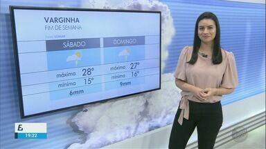 Confira a previsão do tempo para o final de semana no Sul de MG - Confira a previsão do tempo para o final de semana no Sul de MG