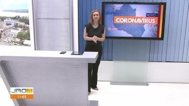 Confira a íntegra do JRO1 desta sexta-feira, 12 de Março - Telejornal é apresentado por Karina Quadros.