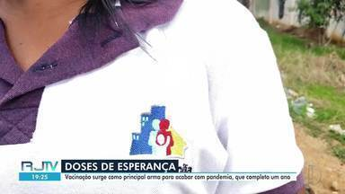 Campos, RJ, inicia mais uma etapa de vacinação contra a Covid-19 na próxima semana - Vacina é a principal arma contra a doença, que já matou mais de 700 pessoas no município.
