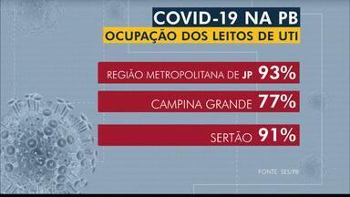 Paraíba tem 235.619 casos confirmados e 4.865 mortes por coronavírus - Dados foram divulgados pela Secretaria de Estado da Saúde (SES) do governo do estado.