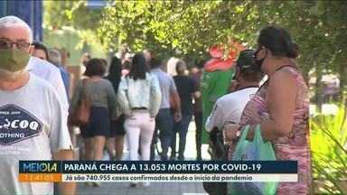 Paraná chega a 13.053 mortes por Covid-19 - Secretário Estadual de Saúde faz balanço desse um ano de pandemia no Paraná.