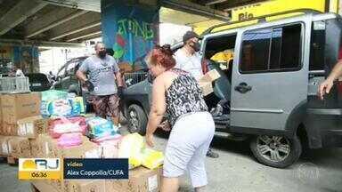 Pandemia agrava situação da fome nas favelas do Rio - De acordo com a Central Única de Favelas (Cufa), num levantamento feito com o Instituto Data Favela e Locomotiva, no Rio, a pandemia do coronavírus aumentou o desemprego e agravou a fome, principalmente nas comunidades e favelas.