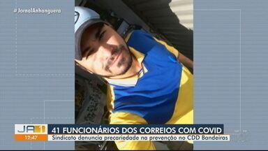 Sindicato denuncia que funcionários dos Correios estão trabalhando com coronavírus - Segundo a instituição, cerca de 41 trabalhadores estão com a Covid-19.