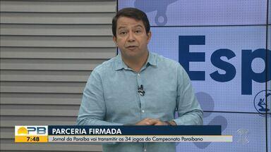 Kako Marques traz as notícias do esporte no Bom Dia Paraíba desta quarta-feira (24.03.21) - Fique bem informado, torcedor paraibano