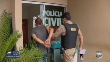 Operação cumpre mandados contra suspeitos de assalto à agência bancária no Sul de MG - Operação cumpre mandados contra suspeitos de assalto à agência bancária no Sul de MG