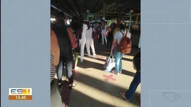 Secretário de Mobilidade Urbana pede que usuários não lotem ônibus e façam distanciamento - Assista a seguir.