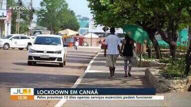 Pelos próximos 12 dias apenas serviços essenciais podem funcionar em Canaã dos Carajás - Pelos próximos 12 dias apenas serviços essenciais podem funcionar em Canaã dos Carajás