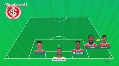 Ramírez tem dúvidas para escalar o Inter; veja o time provável - Técnico fará testes contra o Caxias nesta quinta-feira.