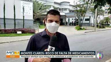 Covid-19: Confira a situação da Santa Casa de Montes Claros - Oitenta e nove pessoas estão internadas nesta quarta.