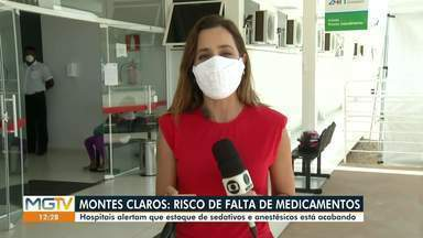 Covid-19: Hospitais alertam que estoques de sedativos estão acabando - Hospitais estão superlotados.