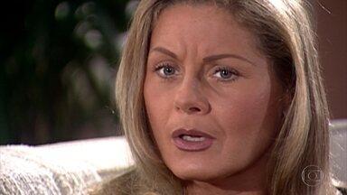 Helena diz a Pedro que Íris o ama de verdade - Eles conversam sobre a menina ter visto os fantasmas dos pais