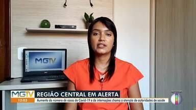 Hospitais de Curvelo estão superlotados - Segundo a Secretaria de Saúde, 92 pessoas estão internadas.