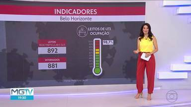 Taxa de transmissão do coronavírus está em 1,16 em BH - O número de mortes passa dos 3 mil na capital.