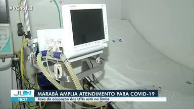 Marabá tem aumento preocupante de novos casos de Covid-19 - Rede de atendimento vem sendo ampliada para dar conta de quem chega doente e também evitar colapso na oferta de leitos.