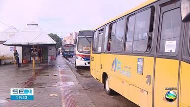 Frota de ônibus circula com 100% do efetivo em Aracaju durante o dia - Frota de ônibus circula com 100% do efetivo em Aracaju durante o dia