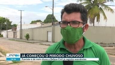 Defesa Civil de RR já registra ocorrências devidos as chuvas dos últimos dias - Período chuvoso.