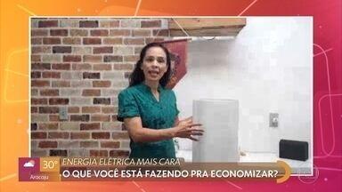 Brasileiros reclamam da alta na conta de luz - População sofre com diminuição da renda por causa da pandemia e a taxa de energia cada vez mais alta