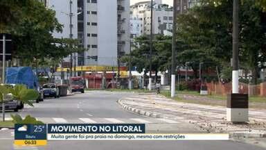 Muitos moradores são flagrados sem máscara e em aglomerações - No domingo foram registradas 244 mortes por causa do coronavírus.