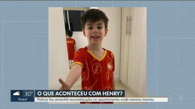 Polícia marca reconstituição do caso Henry - Mãe do menino e padastro, Dr. Jairinho, irão participar.