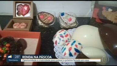 Renda extra na páscoa - Muita gente viu uma oportunidade de ganhar dinheiro fazendo ovos de chocolate