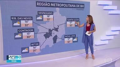 Madrugada de sexta-feira deve ser fria na região metropolitana - Em BH feriado começa com 16 graus.
