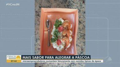 Microempreendedores aumentam faturamento com a venda de ovos da páscoa em Salvador - Profissionais apostam no sistema de delivery para não perder vendas durante a pandemia.