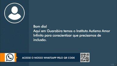 Telespectadores participam do JPB1 - Telespectadores enviam mensagens e interagem com o apresentador Danilo Alves