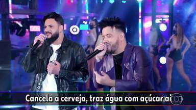 Diego & Victor Hugo cantam 'Infarto' - Confira!