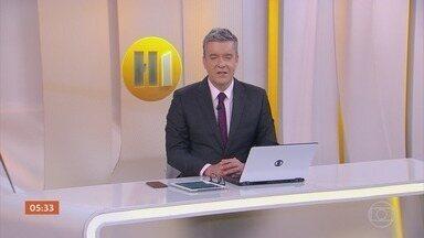 Hora 1 - Edição de 05/04/2021 - Os assuntos mais importantes do Brasil e do mundo, com apresentação de Roberto Kovalick.