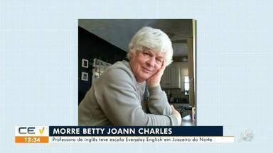Morre professora Joann Charles, referência em ensino de Inglês no Cariri - Saiba mais em g1.com.br/ce