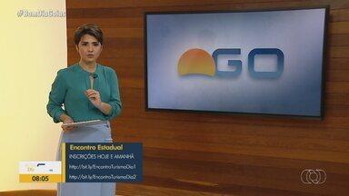 Veja como participar do encontro online sobre impactos no turismo em Goiás - Discussão é sobre as consequências da pandemia na área turística.