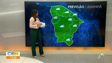 Veja a previsão do tempo para a Metade Sul do Estado - Saiba mais em g1.com.br/ce