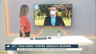 Polícia Federal investiga ataque a secretário de Saúde de MS - Geraldo Resende fala sobre o assunto.