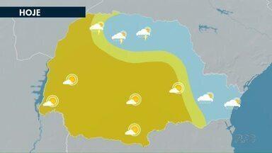 Confira a previsão do tempo para Maringá - Tempo deve continuar quente na região.