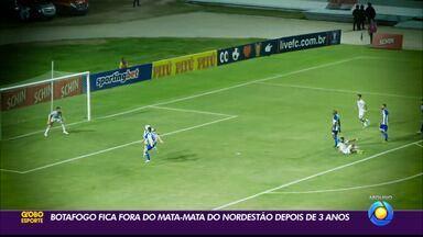 Após três temporadas, Botafogo-PB fica de fora do mata-mata da Copa do Nordeste - Com uma rodada de antecedência, Belo foi eliminado matematicamente no empate contra o Confiança, na última segunda-feira, no Estádio Almeidão, em João Pessoa