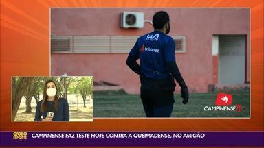 Mirando a estreia no Campeonato Paraibano, Campinense faz jogo treino contra a Queimadense - Raposa enfrenta Carcará no Estádio Amigão, em Campina Grande, após sete temporadas.