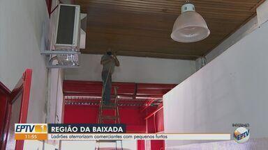 Furtos de fios preocupam comerciantes em Ribeirão Preto, SP - Fatos acontecem na Avenida Francisco Junqueira.