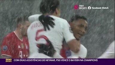 Com duas assistências de Neymar, PSG vence o Bayern na Champions - Com duas assistências de Neymar, PSG vence o Bayern na Champions