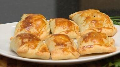 Receita Nosso Campo: aprenda a preparar empanada chilena - O Nosso Campo deste domingo (11) traz uma receita especial de empanada chilena. Saiba como preparar esse prato delicioso.